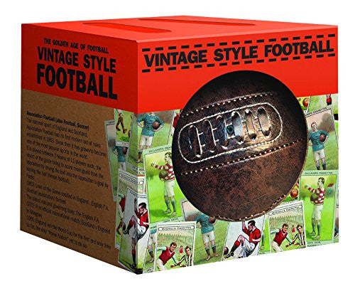 Robert Frederick Vintage Sport Vinyl Football In A Box, Plastic, Assorted
