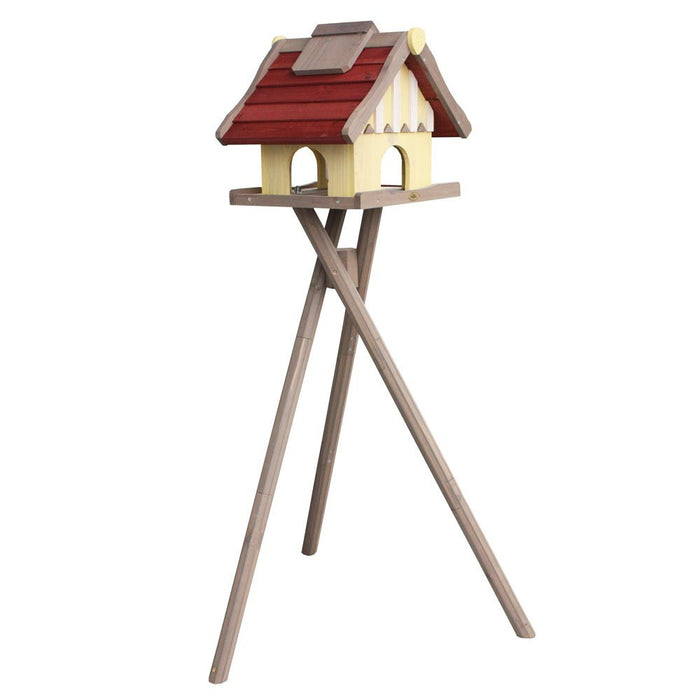 Habau 1796 'Oslo' Birdhouse with Silo and Stand