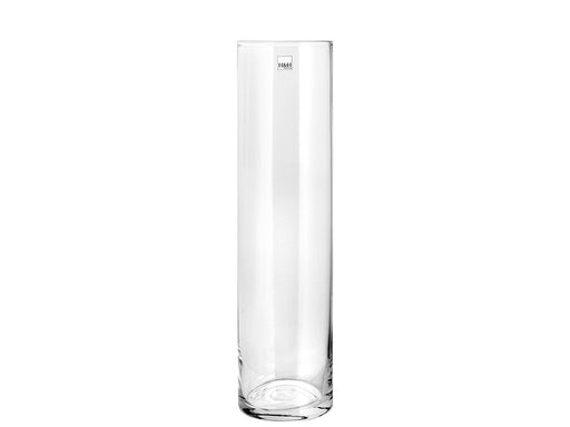 H & H 8249830 Pengo Cylindrical, 11 x 30 cm Glass Vase, Clear