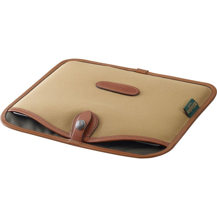 Billingham Canvas Slip for Tablet - Khaki/Tan