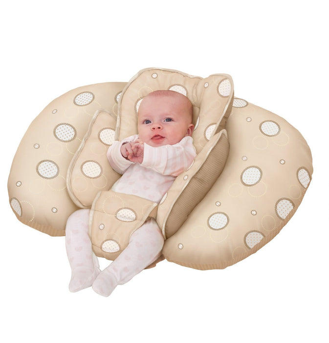 Clevamama ClevaCushion 10-in-1 Nursing Pillow (Cream)