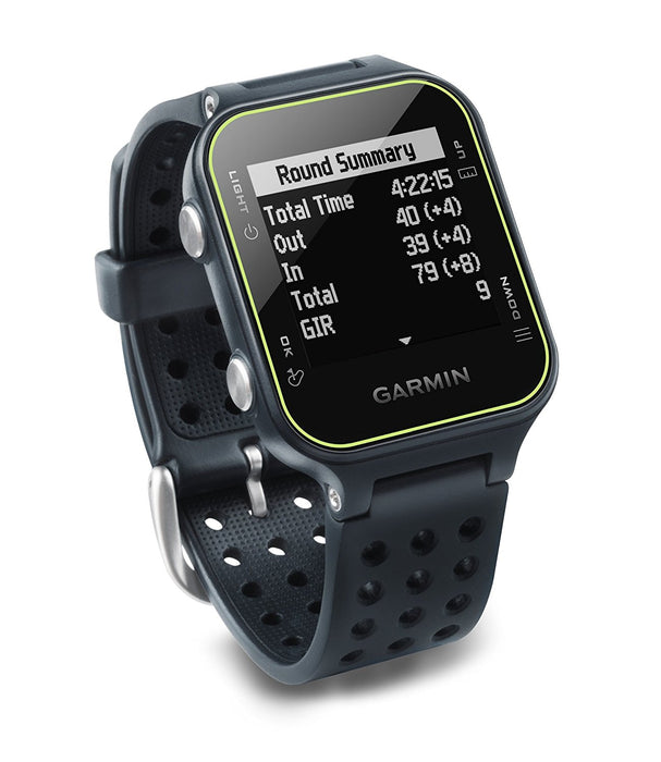 Garmin Approach S20 GPS Golf Watch - Slate