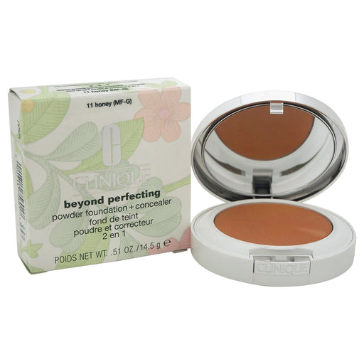 Clinique Foundation, Beyond Perfecting Powder Foundation, 14.5 GR, 11-honey