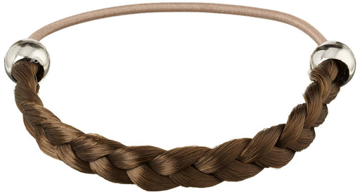 Solida Kunsthaarzopfabbinder Mary, Vintage Braided with Elastic Strap, 6.00 cm Colour 4 Light Brown Pack of 3)
