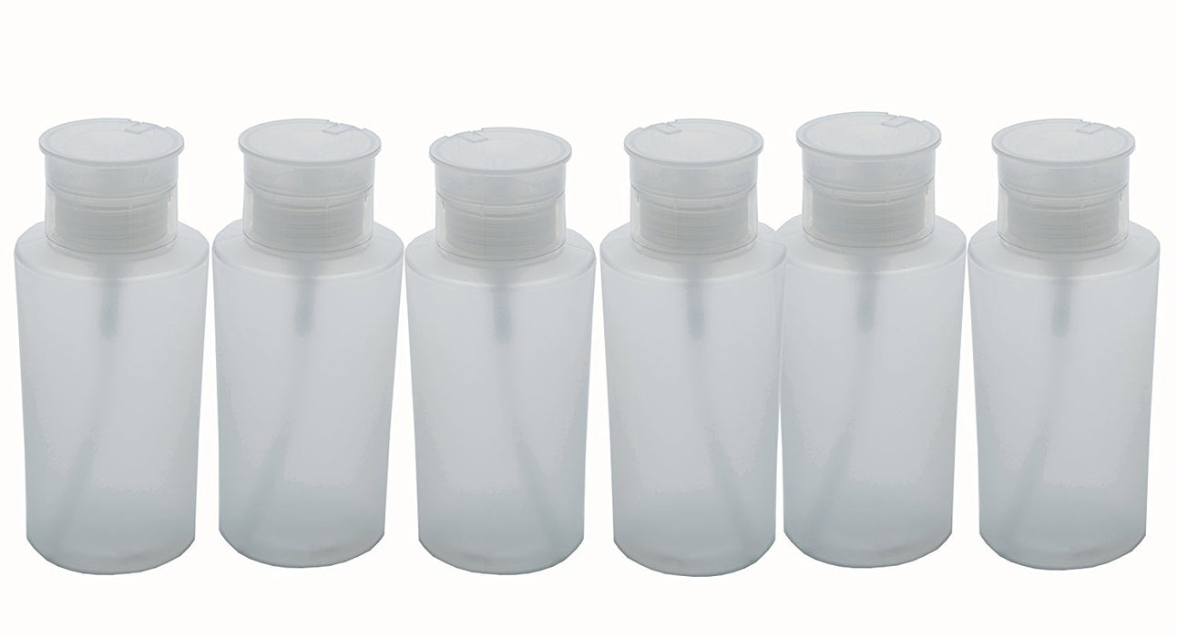 Fantasia Plastic Empty Pump Bottle 220 ml (Pack of 6)