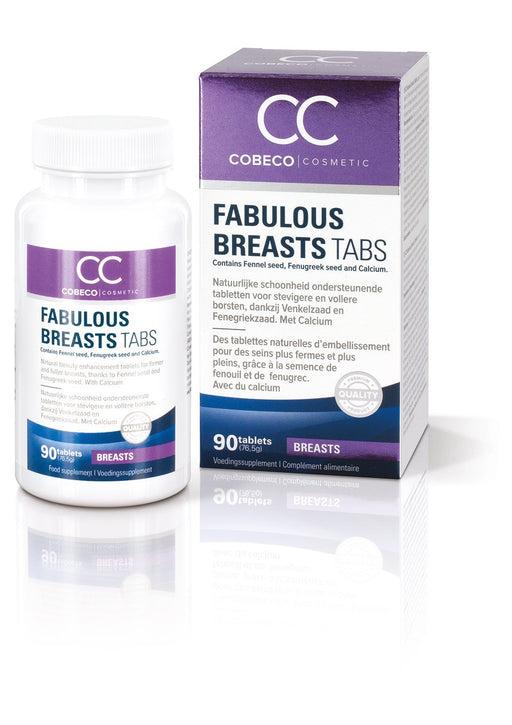 Cobeco Cosmetics Fabulous Breasts - Pack of 90 Tablets