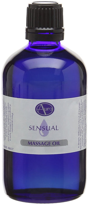 100ml SENSUAL Massage Oil by Aura Essential Oils