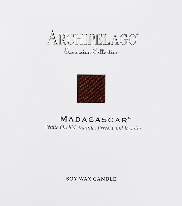 ARCHIPELAGO BOTANICALS Excursions Boxed Candle, Madagascar 270 g