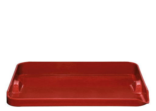 Ceramic Plancha, Burgundy,