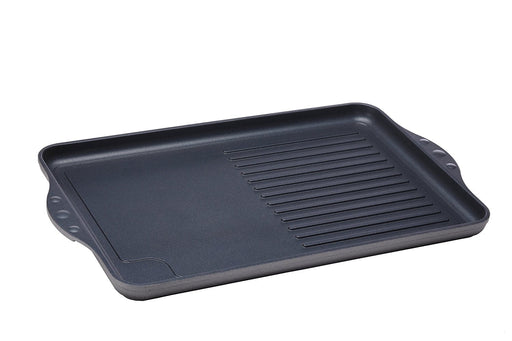 Swiss Diamond Grill Half Ribbed 43 x 28 cm
