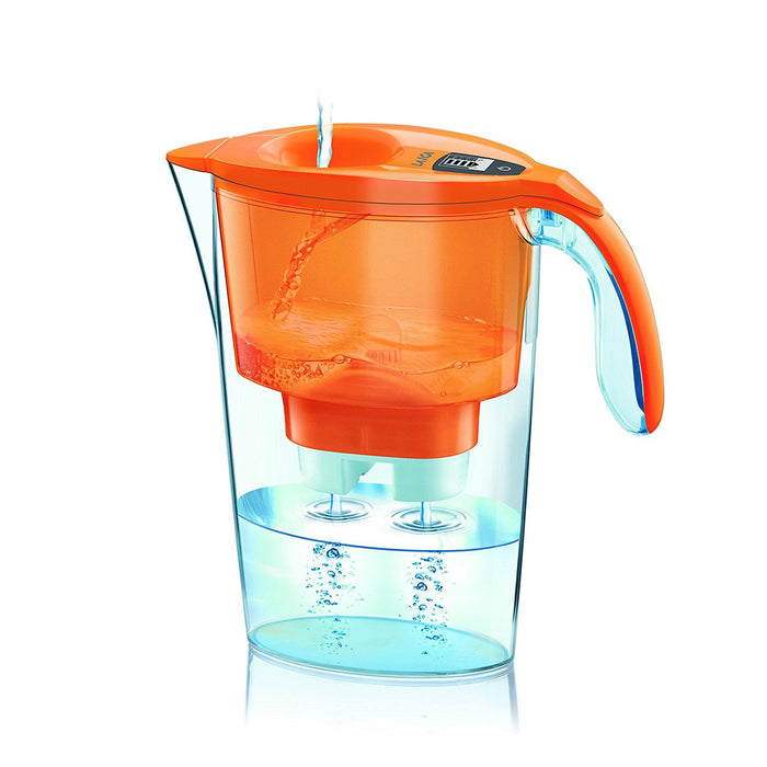 Laica water filter jug, 2,30 L, Orange