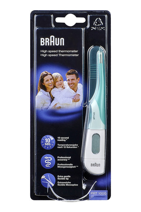 Braun PRT1000 High Speed 3-in-1 Thermometer