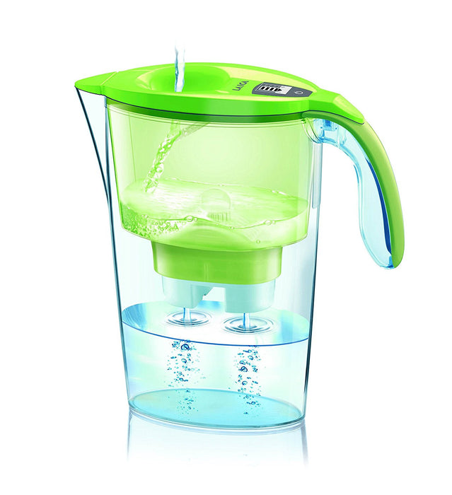 Laica water filter jug, 2,30 L, Green