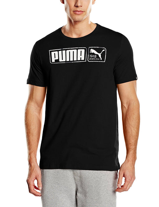 Puma Fundamentals Graphic Kids Basics Pants - Black, Size 32