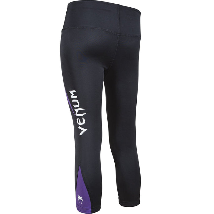 Venum Women's Body Fit Leggings - Black/Purple, X-Small