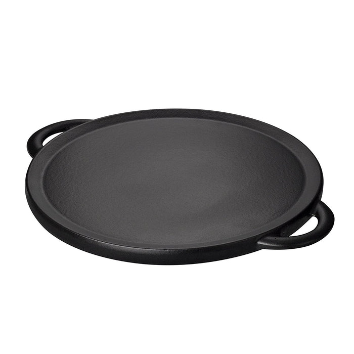 Denby Reversible Pizza Griddle, Black, 28 cm