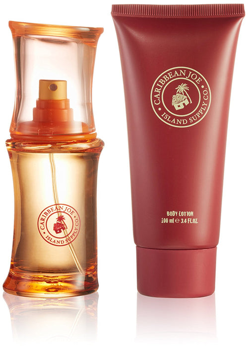 Caribbean Joe EDT Spray 50 ml and Body Lotion 100 ml