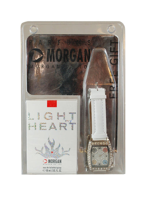 Morgan Light My Heart Eau de Toilette Spray 60ml and Watch Set
