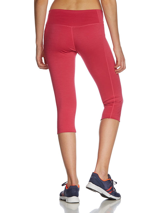 Super Natural Women's Max 260 Merino Yoga Legging - Fuchsia, Small