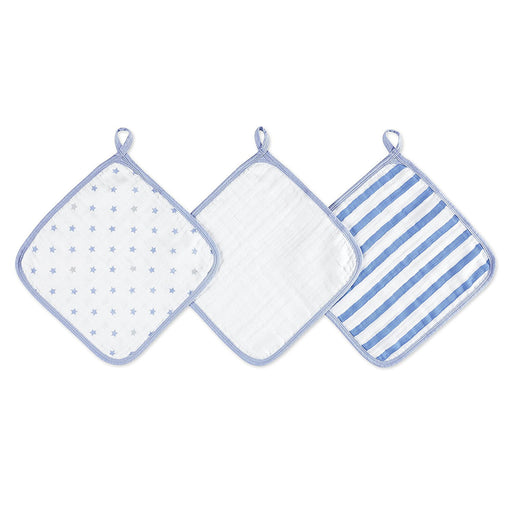 aden by aden + anais washcloth set 3-pack - dashing