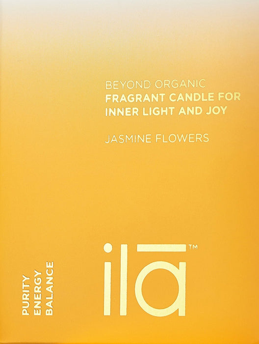 ila Fragrant Candle for Inner Light and Joy, Jasmine Flowers 200 g