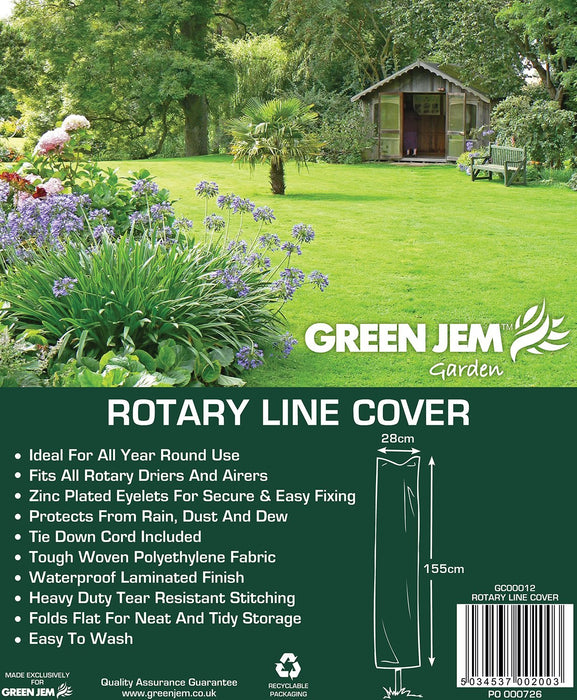 Green Jem Rotary Line Cover