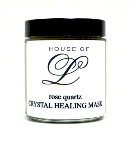 Rose Quartz Crystal Healing Mask
