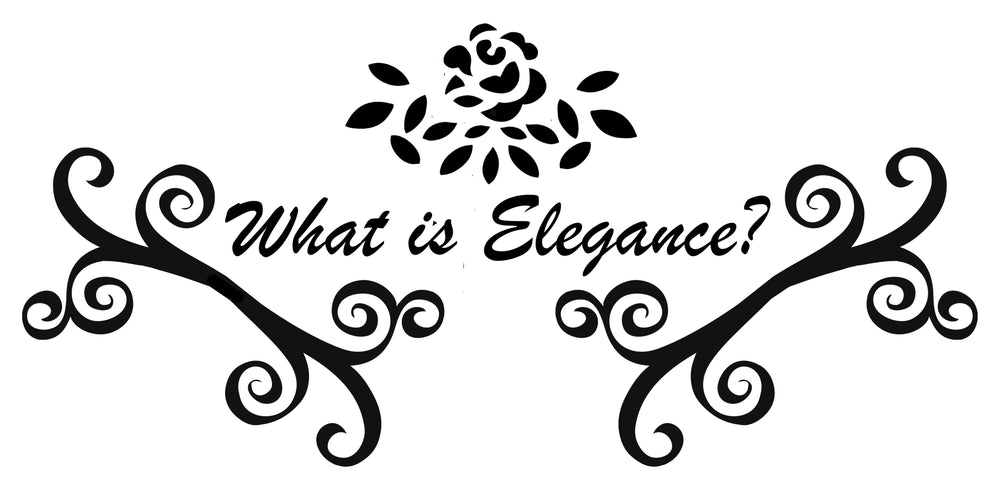 What Is Elegance?