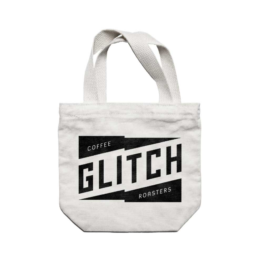 Glitch Logo Tote Bag