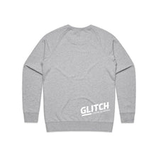 Glitch Grey Sweatshirt Unisex