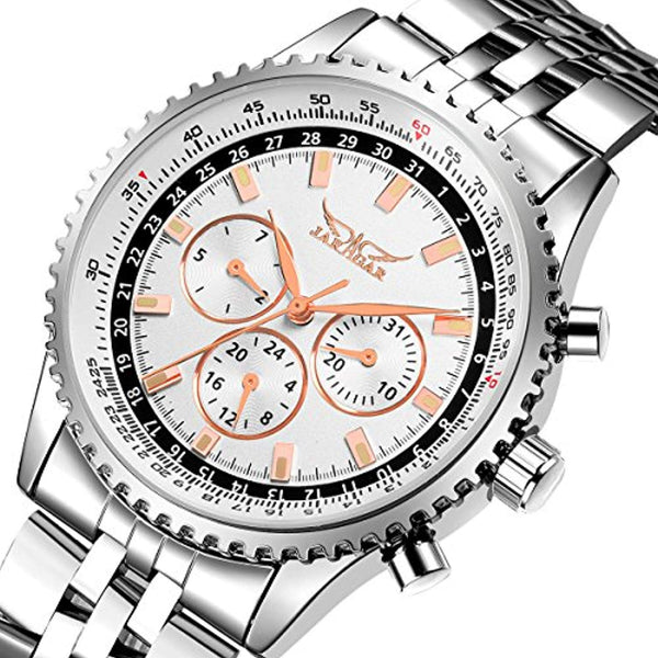 GLADIATOR PROFLYER Elegant Automatic Chronograph With Luminous Tachymeter