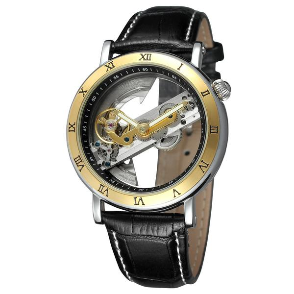 GLADIATOR COLISEUM Transparent Automatic Mechanical Movement Unique Men's Watch