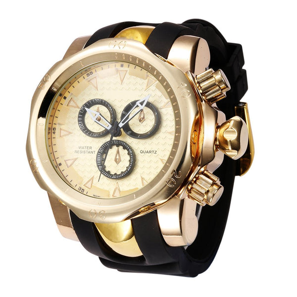 GLADIATOR BRUTUS Three-dimensional tricyclic 51mm Case Chronomter