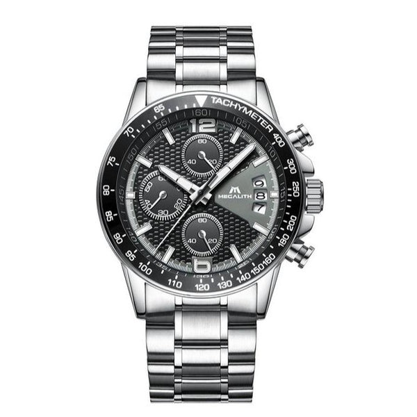 GLADIATOR MEGALITH Men's Modern Classic Chronograph Business & Outdoor Watch
