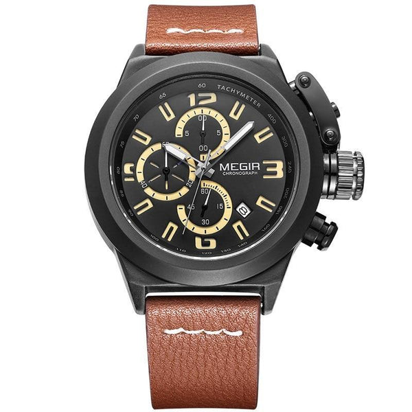 GLADIATOR MAGNUS Military Style Executive Chronograph