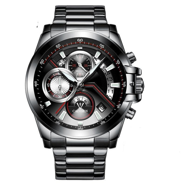 GLADIATOR CADENCE Military Style Stainless Steel Wristwatch