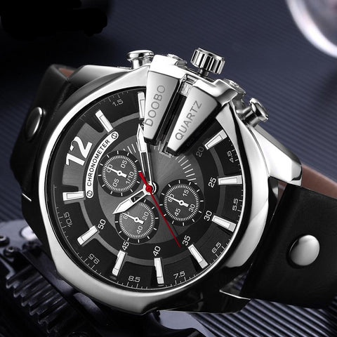 FREE Gladiator SHOTGUN Executive Unique Design Men's Watch