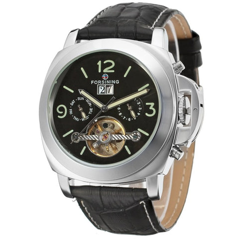 GLADIATOR MAXIMUS Analog Self-Winding Automatic Tourbillion Elite Men Watch With Day Of The Week Dial