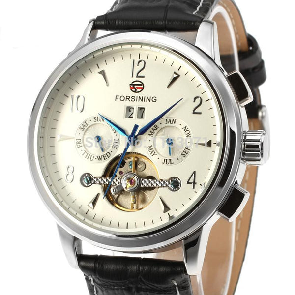 GLADIATOR CENTURION Men's 21-Jewels Automatic Tourbillon Business Watch