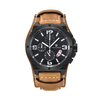 GLADIATOR TIBER Men's Sport / Military Multifunction Watch with Leather Band