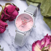 GLADIATOR Pink Dial Flowers Watch