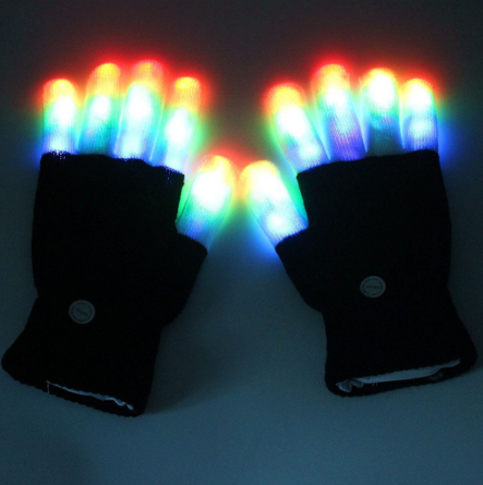 GLADIATOR FINGS Light Up Gloves