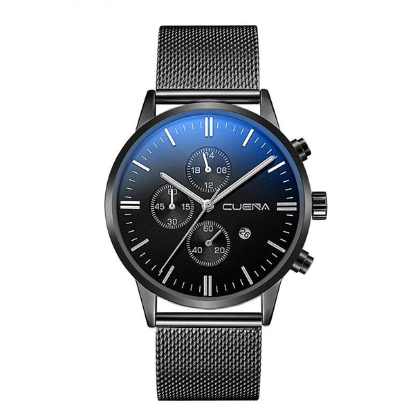 GLADIATOR SPECTRE Elegant Men's Watch With Stainless Steel Band 43mm