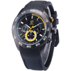 GLADIATOR PREDATOR Round Black Mens Waterproof Chronograph Sports Watch with 6 Hands