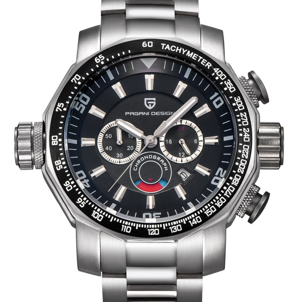 GLADIATOR VICTORIUS High Profile Men's Masculine Design Stainless Steel Multi-functional Sport Watch