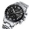 GLADIATOR GALEA Men's Military / Sport Luminous Watch With Chronograph Bezel