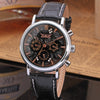 GLADIATOR LEOPARD Sleek Men's Masculine Automatic Mechanical Analog 6 Hand Wristwatch