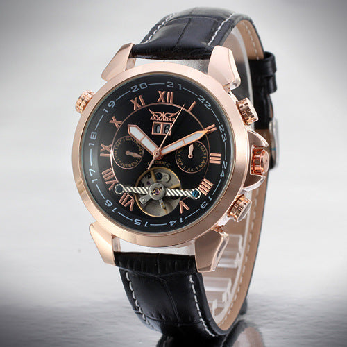 GLADIATOR XAVIER Mechanical Men's Watch With Tourbillon Flywheel