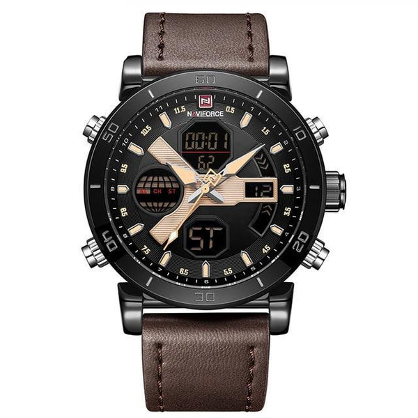 GRADIATOR PUNISHER LED Analog Quartz Army Military Sport  Waterproof Relogio Men Watch
