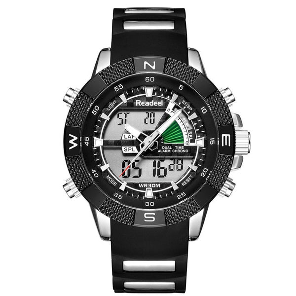 GLADIATOR NAVIGATOR Military Sport Electronic LED Digital Men Watch Relogio Masculino